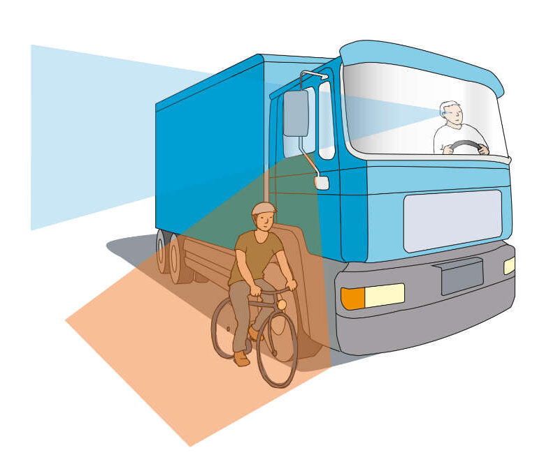 ulrikebahl-illustration-DGUV-LKW-ToterWinkel