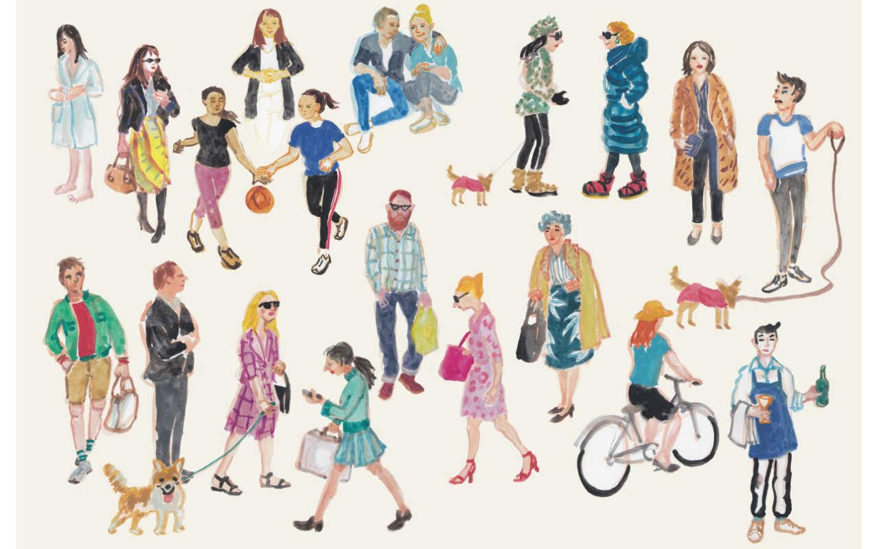 ulrikebahl-illustration-People-unterwegs-Collage