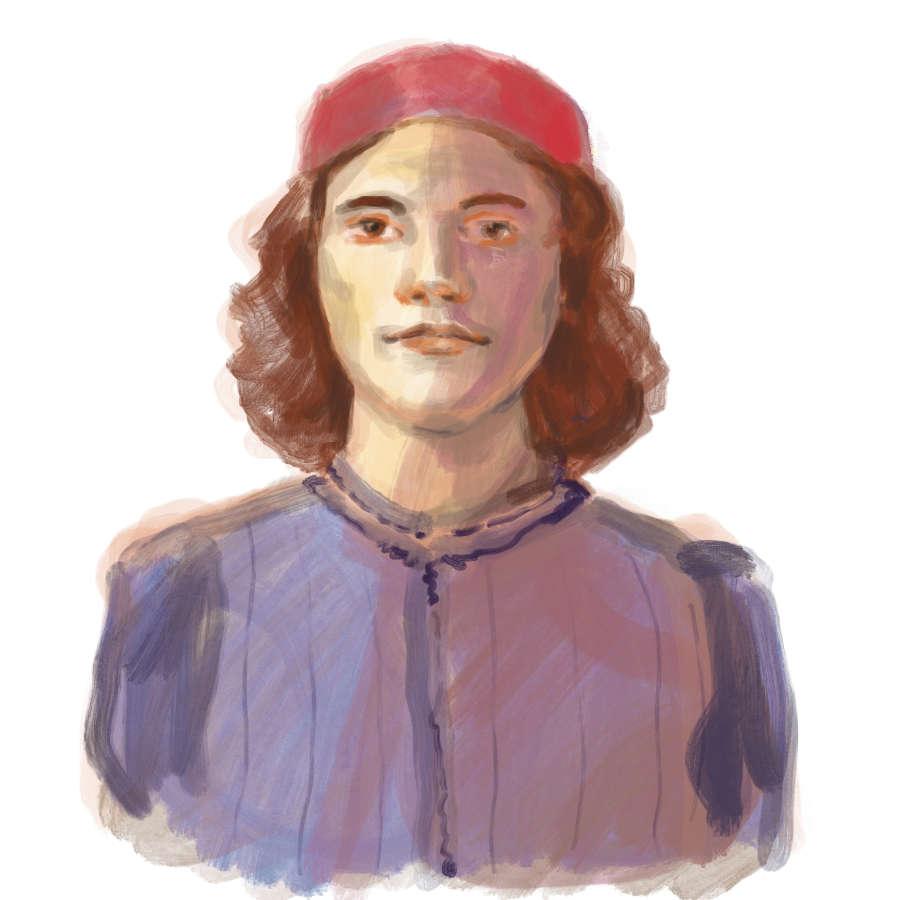 ulrikebahl-illustration-Portrait-Sandro